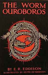 The Worm Ouroboros - first edition cover