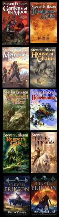 The Malazan Book of the Fallen (US covers)